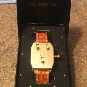 Vintage Golfer's Stroke Counter Wrist Piece